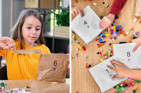 lego paper bags plastic packaging sustainable