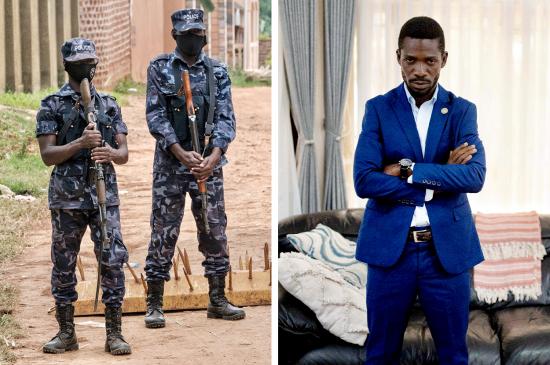 uganda bobi wine house arrest election
