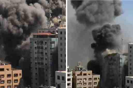 israel al jazeera ap airstrike thumbnail