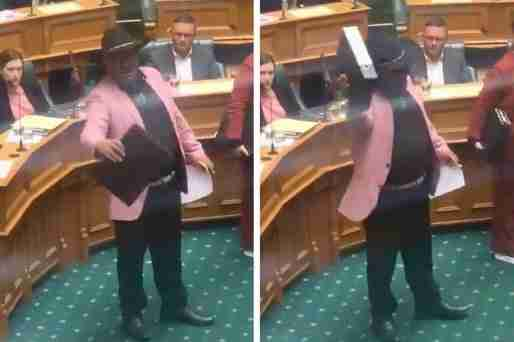 new zealand maori mp haka parliament kicked out