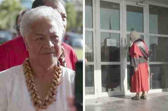samoa first woman prime minister locked out fiame naomi mataafa thumbnail