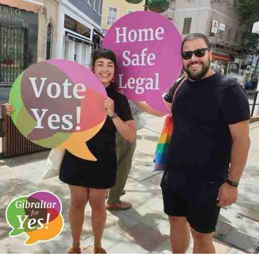 gibraltar abortion legalize refernedun sign home safe legal