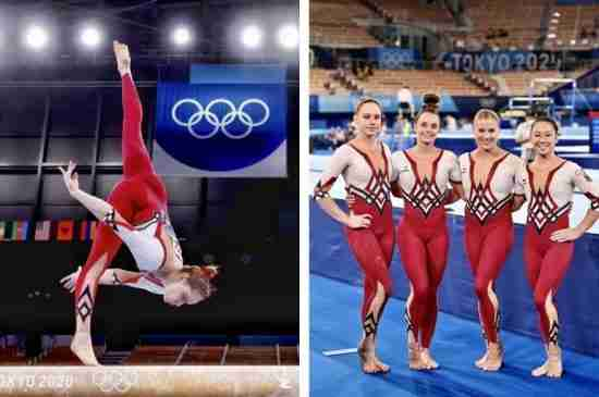 The German Olympic Women's Gymnastics Team Competed In Full Bodysuits To Protest Sexualization
