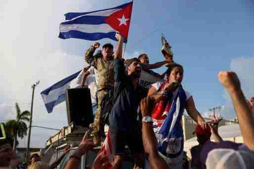 cuba anti government portest