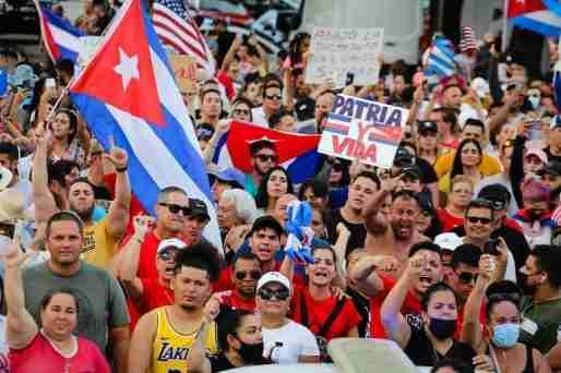 cuba protest freedom