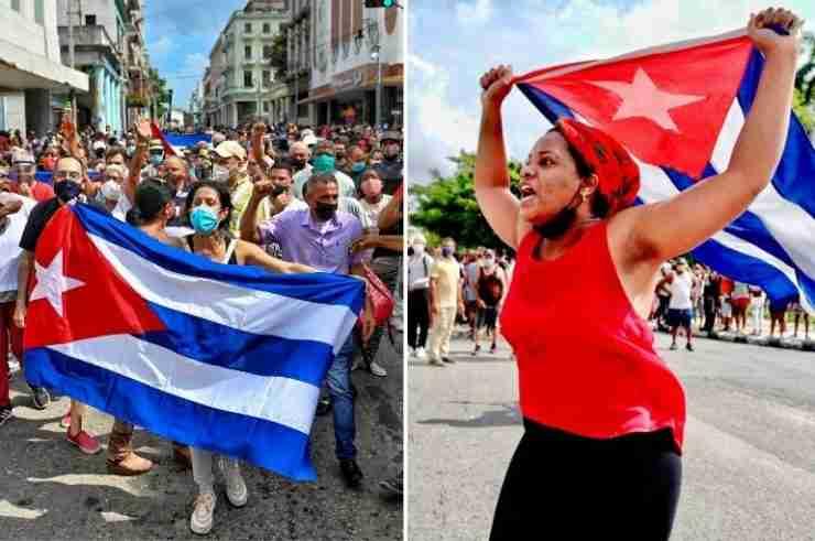 cuba protests anti government communist