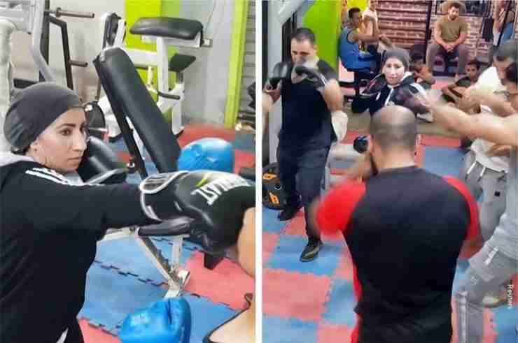egypt mom boxing coach beni suef