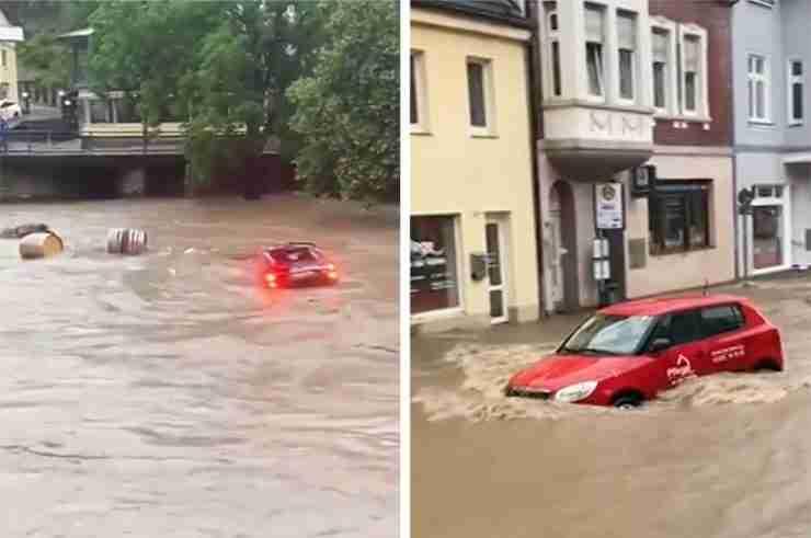 germany flooding belgium ahrweiler rhineland