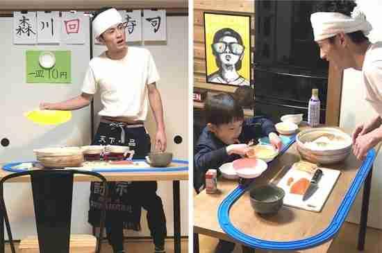 japan dad diy sushi home morikawa papa
