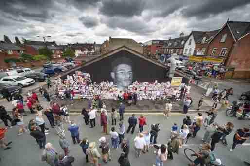 marcus rashford mural messages support love