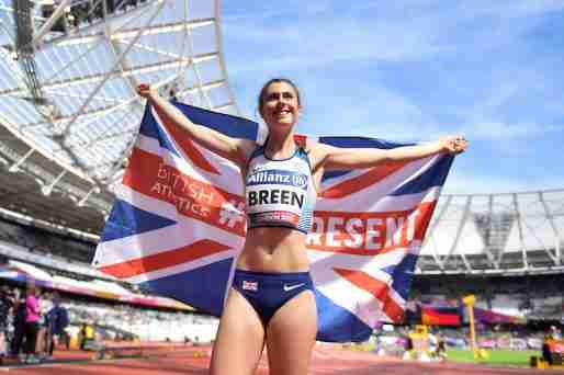olivia breen paralympics shorts
