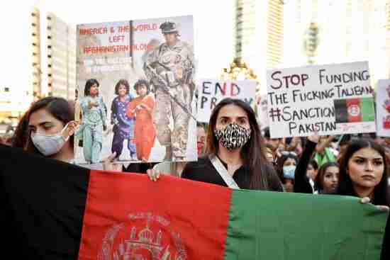 afghanistan protests world