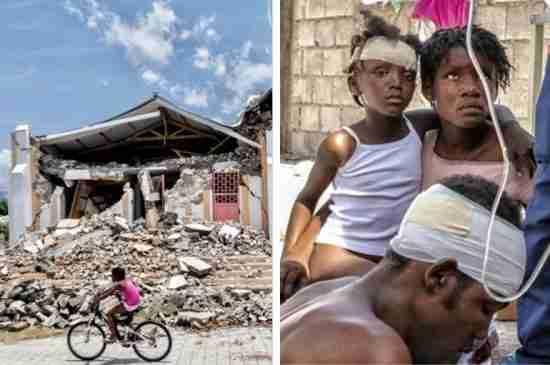 haiti tropical storm grace earthquake