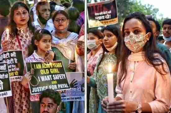 india dalit girl rape murder cremated protest