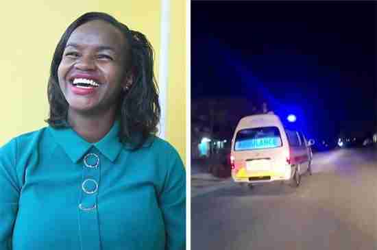 jemimah kariuji kenya ambulance pregnant women
