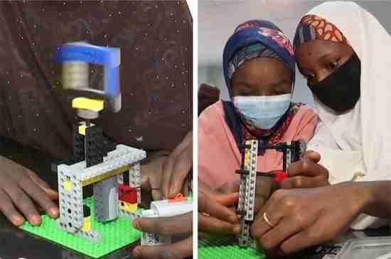 nigeria girls stem robotics Kabara project