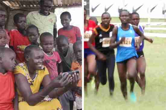 refugee runners olympics south sudan