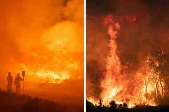 wildfires climate change countries