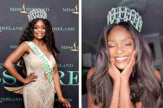 first black miss ireland pamela uba