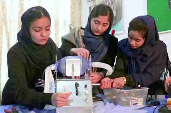 afghanistan girls robotics team qatar mexico