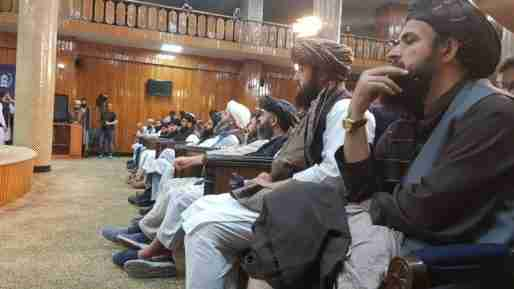 afghanistan taliban government man