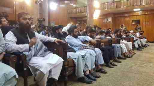 afghanistan taliban government men