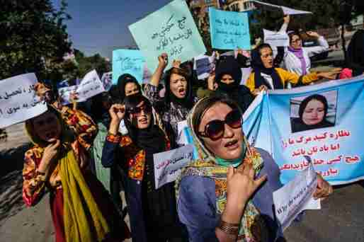 afghanistan taliban government woman