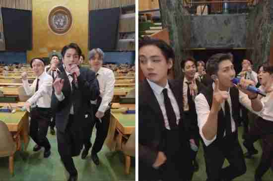 bts united nations permission to dance