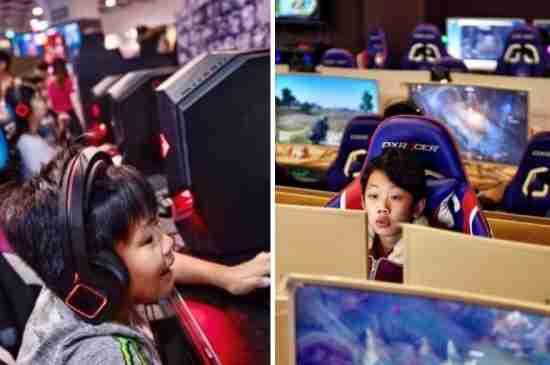 china video game ban children