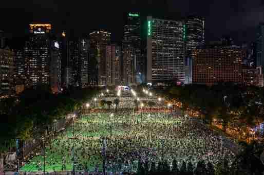 hong kong tiananmen vigil 2020