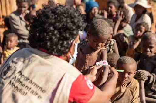 Villagers in Madagascar are now facing famine because of the worst drought in 40 years.