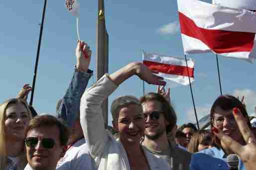 maria kolesnikova belarus sentenced 11 years