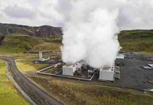 climeworks CO2 capture plant iceland