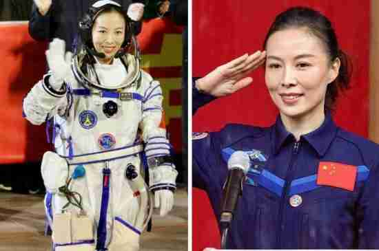 wang yaping china first woman astronaut space station spacewalk